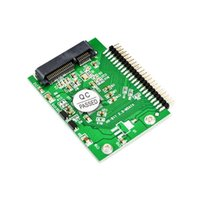 Wholesale Express Card Drive - mini PCI-e msata 1.8 SSD to 2.5 IDE inch HDD Hard Drive 3.3V 44pin Card PCI E express sata Converter Adapter For Laptop PC