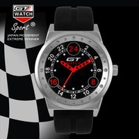 Militray Armée Timepieces Bâle Novelties Pilot Silicone Strap Fashion Watch GT MONTRE GT003 Car Racing Sports Montre-bracelet homme