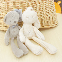 All'ingrosso-50cm Mamas Papas baby rabbit e 35cm bear sleeping <b>comfort doll</b> peluche Millie Boris Smooth Obbediente Sleep Calm