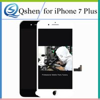 Wholesale Resistive Screen - AAA Grade NO Dead Pixel For iPhone 7 plus Lcd Display Touch Digitizer Screen Assembly With 3D Touch Full Set
