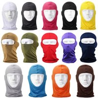 Wholesale Sun Hat Bulk - Bulk Lots Thermal Fleece Balaclava Warm Winter Cycling Ski Neck Masks Hoods Paintball Hats Motorcycle Tactical Full Face Mask Sca