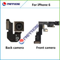 Wholesale Iphone Back Lens - Front Camera with flex cable & Back Camera Lens Cam Replacement for iphone 6 & 6 plus Hot Selling