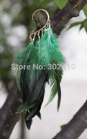 Wholesale Ear Cuff Band - !!! Bohemian Style Rock Punk Collocation Green Feather Big Earring Alloy Ear Cuff Wrap Clip Earrings Band New