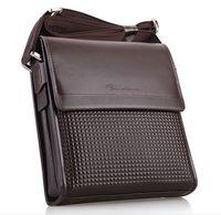 Wholesale Men S Leather Backpacks - Wholesale- New Arrival 2016 Fashion men 's leisure shoulder Messenger Messenger leather version of the summer trend of small backpack TL986