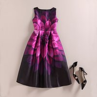 Wholesale Clear Umbrella Printing - Europe during the spring and autumn flower ladies temperament umbrella skirt dress dress party in the long waisted skirt