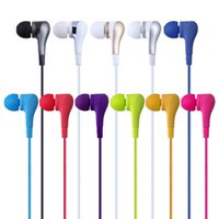 Wholesale E8 Light - 2016 NEW Colorful Light Stere Bass Earphone EF-E8 Headset Sport Noise Cancelling Headphone With Mic For PC Android Phone