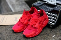 Wholesale Boots Leather New - 2016 2017 NEW MXA AIR 90 Y3 Y8 Y12 BLACK RED HUARAC AND HE SNEAKERS MEN WOMEN RUNNING SHOES Breathable Leisure SPORTS SHOES BOOTS HOT SELL