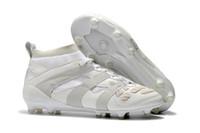 tamanho da cápsula venda por atacado-Novo Predator Acelerador DB David Beckham Cápsula FG Chuteiras de Futebol Dos Homens Sapatos de Futebol Botas de Futebol Tamanho 40-45