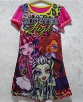 Wholesale Dress Sleep Skirt - 10 Styles New Sleeveless vest skirt Dresses Baby Kids Sleep dress Girl Princess Dress Baby Clothes 4 p l
