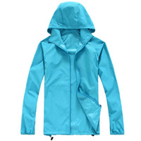 Wholesale Thin Breathable Coat - 2016 new Spring and summer outdoor men and women ultra-thin breathable UV sunscreen skin coat rain jacket fishing clothes Sugan