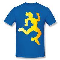 Wholesale Funny Running Shirts - Funny Running Men Men Tees Geek T Shirts Teenage T Shirt Printing Navy Hot Selling Round Collar Cool Shirts For Guys