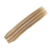 Wholesale brazilian human hair 18 5a resale online - A quot quot Human hair PU EMY Tape Skin Hair Extensions g g set dark auburn DHL free