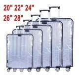 Wholesale Trolley Case Accessories - PVC Transparent Waterproof Trolley Suitcase Dust Bags Luggage Protective Cover Travel Case Accessories Apply to 18 Inch-30 Inch
