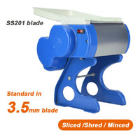 Wholesale Meat Mincer Machine - WS-35 3.5mm household family use meat Slicer Shrer   Mincer,fresh,cooked meat cutting machine,Vegetable Shredder,meat mincer