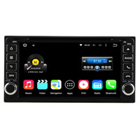 Wholesale Car Dvd Player Toyota Hilux - Quad Core Android 5.1 Universal 2 Din Car DVD Player GPS For Toyota Hilux Vios Camry Crown Corolla Prado RAV4 Yaris 1996-2009