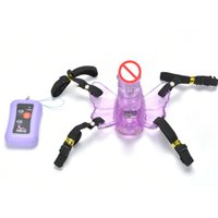 Wholesale Toy Sex Penis Wear - 36 speeds Remote control Strap on dildo for women realistic panties Wear artificial penis Vibrating dildo sex toys for woman sex products