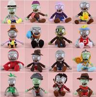Wholesale Zombie Wholesale Toys - Zombies Plush Toys Kawaii Plush Zombie Stuffed Toys Doll Children Kids Toys Birthday Gift Staff Toy 31 design LJJK737
