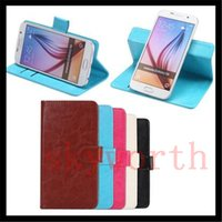 Wholesale Iphone Rotating Leather Case - 360 Rotating Universal Wallet Leather Magnetic Flip Cover Case Card Holder for Samsung Galaxy S6 S7 edge Note 7 iphone 6S 7 PLUS