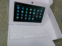 Wholesale Hdd Wholesales China - French language menu French keyboard laptop 10.2 inch screen size Android O.S 512ram+8gb
