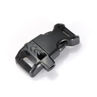 Wholesale Side Release Buckles Whistle Wholesale - 100pcs pack Paracord Bracelet Outdoor Camping Hiking Emergency Side Release Whistle Buckles outdoor camping Backpack