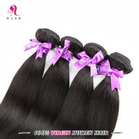 Wholesale Discount Remy Hair Bundles - Big Discount 4 Bundles Straight Hair 7A Clearance Brazilian Remy Hair Unprocessed Straight Braiding Hair Double Weft 1B 4 Pcs