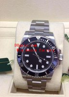 Wholesale Sub Box Papers - Noob Factory Original Box Papers Sapphire Wristwatches SUB Non-Date 114060 40MM Cerachrom Black Dial Automatic 2813 Movement Watch Watches