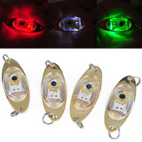 Wholesale Bass Fishing Lights - Saltwater Freshwater Fish Bait LED Light Halibut Redfish Musky Bass Fishing Light Squid Lure Underwater Lamp set - 3 by Deruicent