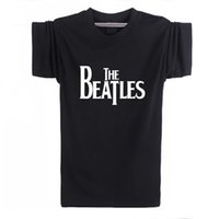 Wholesale M Guitars - Wholesale-2016 New the beatles Rock and roll Funny T-shirt Men Humor Casual Printed College Mens The guitar HipHop Short Sleeve T Shirt