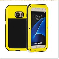 Wholesale S3 Phone Case Waterproof - 2016 HOT Brand Waterproof Dropproof Dirtproof Shockproof Phone Case for samsung s3 4 5 6 7 s7 edge note3 45 Back Metal Cover with retail box