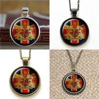 Wholesale Earring London - 10pcs British Flag London United Kingdom Pendant Necklace keyring bookmark cufflink earring bracelet