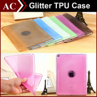 Crystal Glitter trasparente trasparente TPU Gel Cover posteriore per iPad Mini 1 2 3 Air 5 6 Colore Candy Shockproof Custodia protettiva Shell Opp