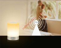 Wholesale Smart Led Night Light Touch - 2017 Original Yeelight Smart Night Lights Indoor Bed Bedside Lamp 16 Million RGB Lights Touch Control Bluetooth For Phone