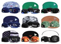 Wholesale Cheap Snapbacks Flower Hats - Cayler & Sons snapback Paisley flower leather brim ,men's & women's skateboard cheap adjustable basketball hats , hiphop bboy women men caps