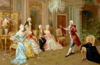 reproductions d'art achat en gros de-Classique Jolie Fine Art Peinture à L'huile Reproduction Reproduction Giclée De Haute Qualité sur Toile Décor À La Maison GT16 (27)