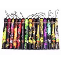 Wholesale disposable e cigars - E ShiSha Hookah Pen Disposable Electronic Cigarette Pipe Pen Cigar Fruit Juice E Cig Stick Shisha Time 500 Puffs Colorful DHL Free shipping