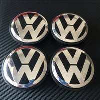 Wholesale Hub 65mm - 4pcs Good Quality New Car Stylying 65mm Wheel Hub Centre Cap Caps Cover Badge Emblem Badge Auto Logo 3B7 601 171 # For VW VOLKSWAGEN