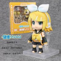 Wholesale Anime Figure Vocaloid - Cute Nendoroid Vocaloid Hatsune Miku Kagamine Rin PVC Figure Model Collection No.189 good gift and collection anime toys figma