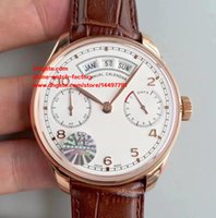 Wholesale Automatic Portuguese Watches - 5 Style Best Edition Watch YL Factory 7 Days Power Reserve 44.2mm IW503502 Portuguese Swiss CAL.52850 Movement Automatic Mens Watch Watches