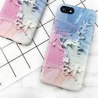 Casos de telefone pintado colorido de graffiti 3D para Apple iPhone 6S 6 Plus Soft Cover Back IMD para iPhone 8 7 Plus Shell