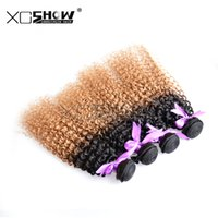 Wholesale Discount Remy Hair Mix - Brazilian Hair Bundles Ombre Hair Extensions queen hair promotion discount remy hair mix length 10-30inch 7a 30inch curly hair weaves 10Pcs