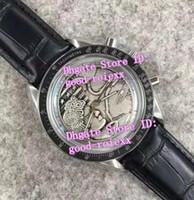Wholesale Apollo Stainless Steel - Limited Edition Mens Mechanical Chronograph Apollo XVII Dial Watch Men's Valjoux Eta 7750 Crystal Men Moon Anniversary Leather Watches
