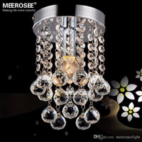 dining room modern 5 10sqm 1 light crystal chandelier mini light fixture small