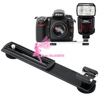 Flashgun Flash Hot Shoe Support de bras de caméra DC Support pour Canon pour Nikon DSLR Photo Studio Accessoires