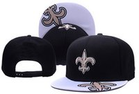 Wholesale Snap Woman - Saints Snapback All Team Football Snap Back Hat Hip Hop Cap Women Men Sports Hats Baseball Snapbacks caps