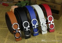 Wholesale New Arrivals Silver Korea - 2016 New Arrival Korea style classic women belt unisex leather waist belt men's buckle belt strap