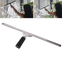 Wholesale Wiper Squeegee - Household Window Cleaner Glass Dust Wash Scraper Squeegee Wiper Brush Home Kitchen Cleaning Tool Glass Cleaner JG0058