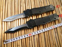 Wholesale Factory Direct Models - Factory direct micr NEWcamping A161 knife camping survival hunting knife Aviation aluminum handle 440 blade (8 models) free shipping