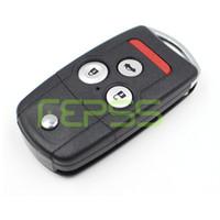 ingrosso chiave remota honda crv-Chiave a conchiglia vibrazione remota per Honda Acura TL MDX NOVITÀ ODYSSEY CRV ACCORD CIVIC copertura remota senza chiave entry key