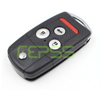 Wholesale key for honda civic - Remote vibration shell key for Honda Acura TL MDX NEW ODYSSEY CRV ACCORD CIVIC entry keyless fob remote cover