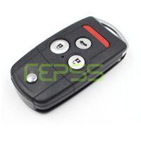 clave acura al por mayor-Tecla de shell de vibración remota para Honda Acura TL MDX NUEVO ODYSSEY CRV ACCORD CIVIC entrada fob remoto sin llave
